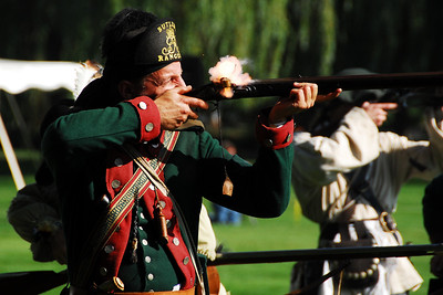 Revolutionary War Reenactment - Cantigny Park - Winfield, Illinois - 2009