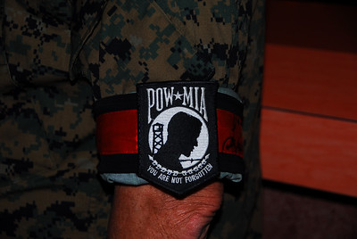 POW / MIA Arm Patch