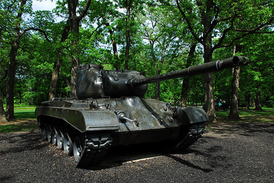 One of the many tanks at Cantigny Park, Winfield, Illinois