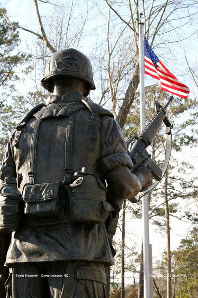 Marine Beirut Memorial - Camp Lejeune, North Carolina