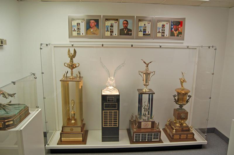 Miramar Marine Corps Museum Trophies