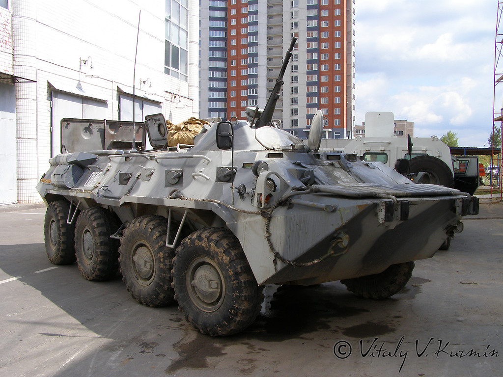 БТР-80М Московского ОМОН (BTR-80M from Moscow OMON unit)