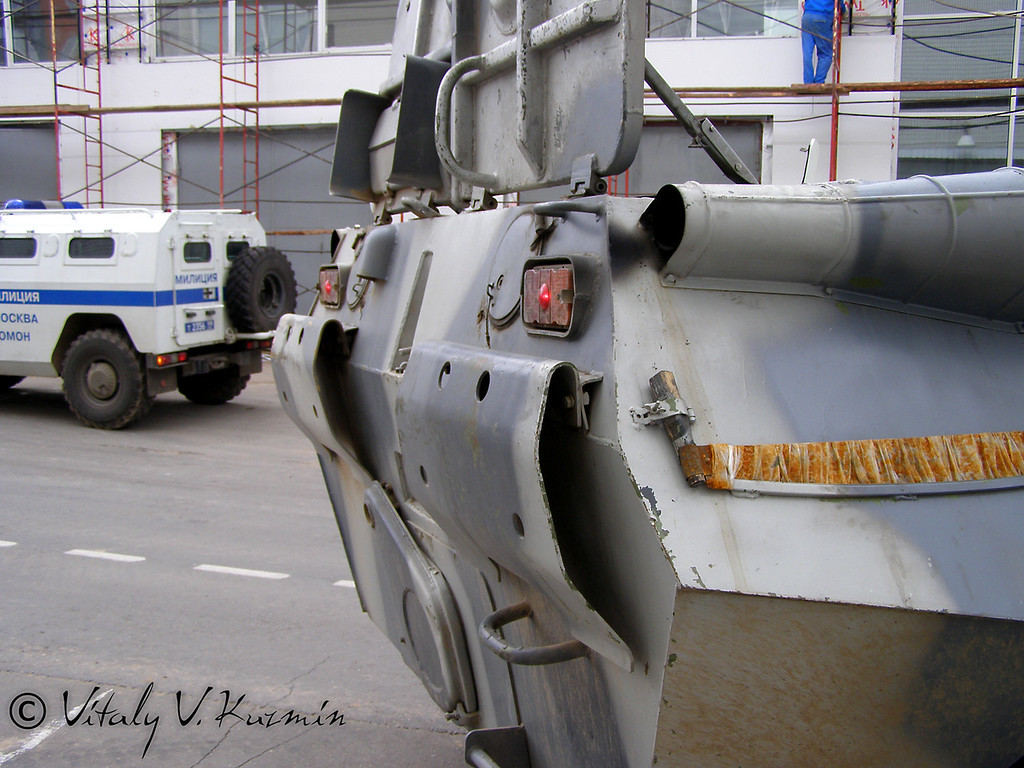 БТР-80М Московского ОМОН (BTR-80M from Moscow OMON unit)
