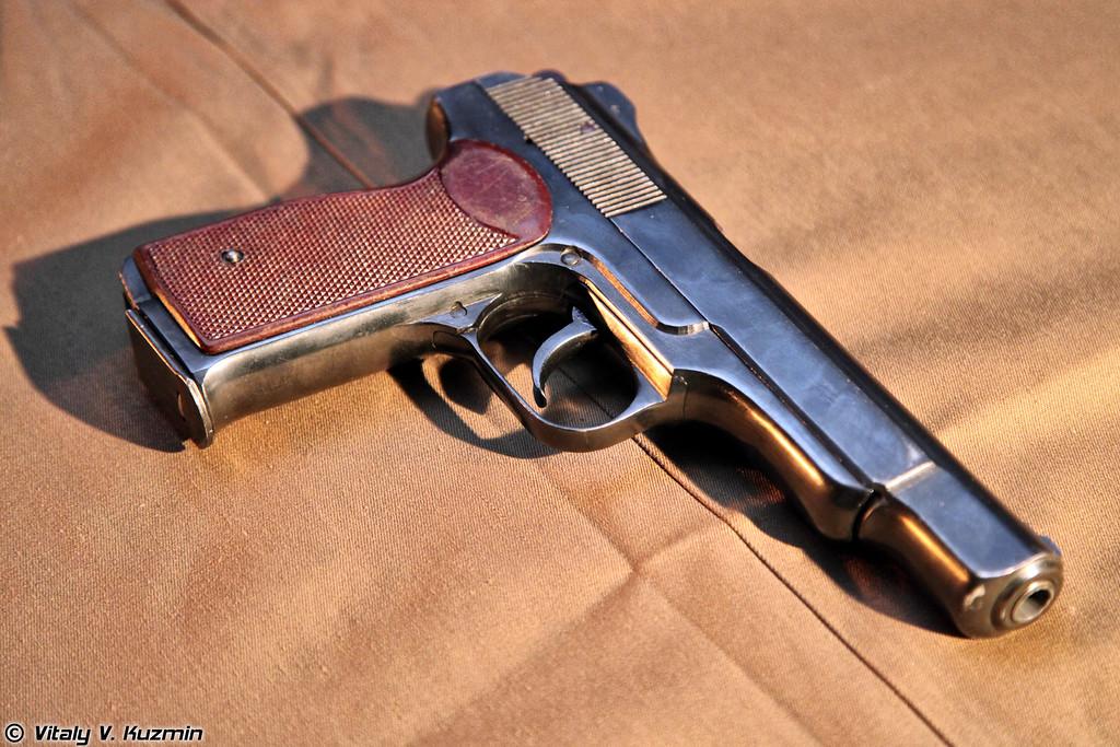 9-мм автоматический пистолет Стечкина АПС (9mm Stechkin APS pistol)