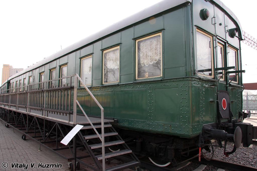 Салон-вагон шестиосный Владикавказского типа 1932 г. (Sleeping car)