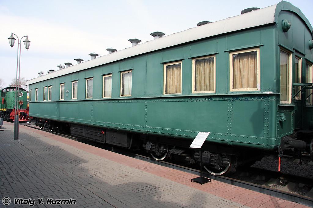 Салон-вагон четырехосный Владикавказского типа 1913 г. (Sleeping car)