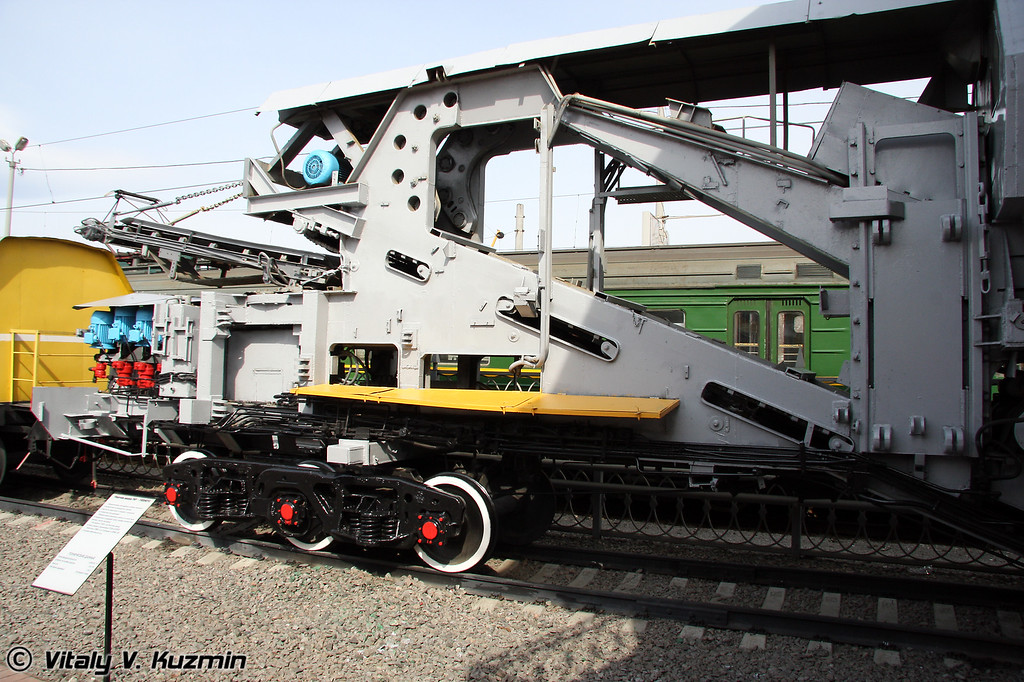 Уборочная машина УМ1-19334010 (Cleaning vehicle UM1-19334010)