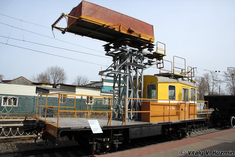 Дрезина монтажная скоростная ДМСу (Speed mounting trolley DMSu)