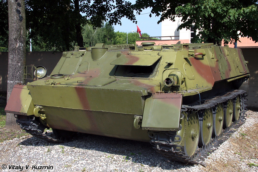 Транспортер-тягач ГТ-МУ (GT-MU trasnporter)