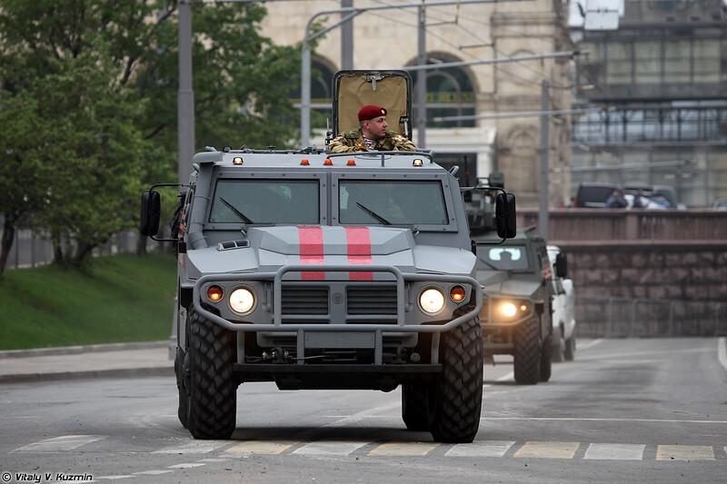 Бронеавтомобиль СБМ ВПК-233136 Тигр-М (VPK-233136 Tigr-M SBM)