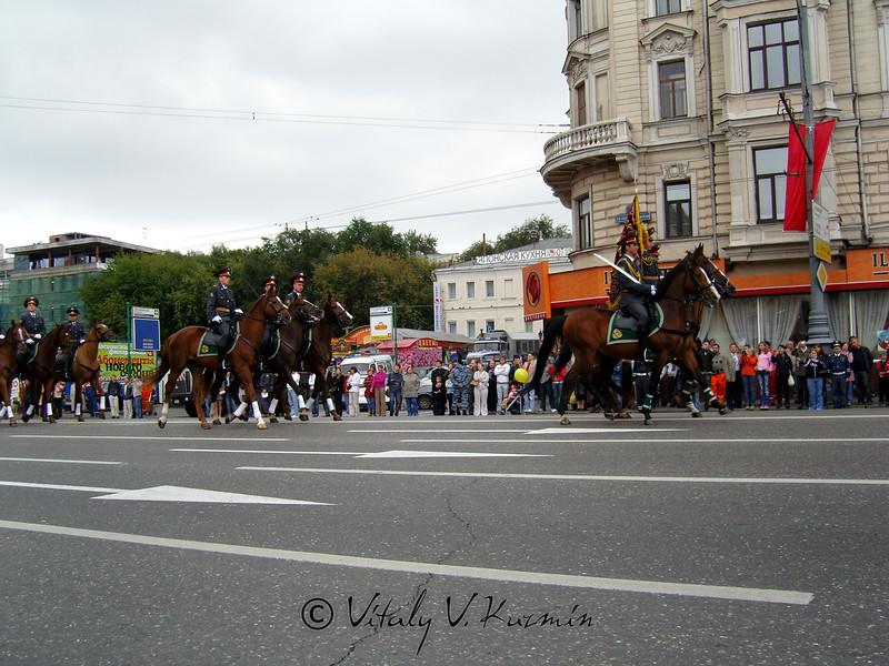 38-я Эстафета московской милиции по Садовому кольцу (38th annual Moscow police relay-race)