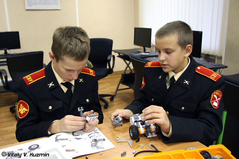 Московское суворовское военное училище (Moscow Suvorov Military School)