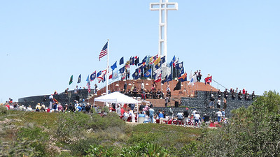 Mt. Soledad Veterans Memorial Day Service - 5/27/13