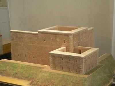 Muro di fortezza, progetto di Leonardo