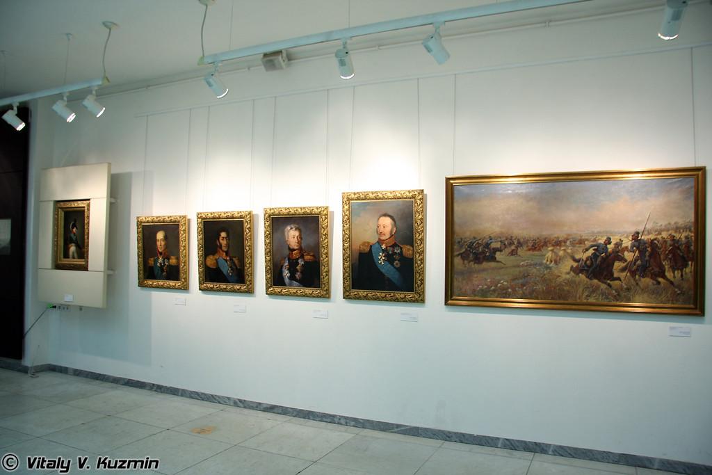 Портреты Императора и генералов (Emperor and generals portraits)