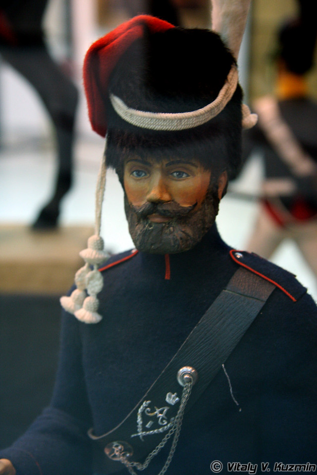 Рядовой казачьего полка Войска Донского (Private of Cossack regiment)