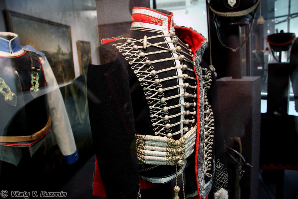 Доломан и кушак гусара Александровского гусарского полка (Aleksandrovsy hussar regiment hussar uniform)