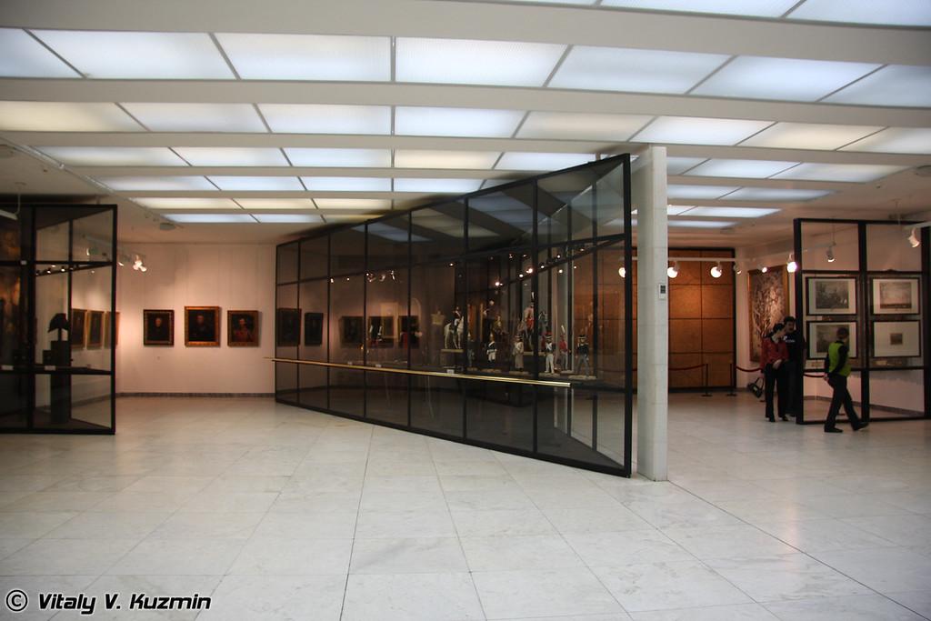 Один из павильонов (museum hall)