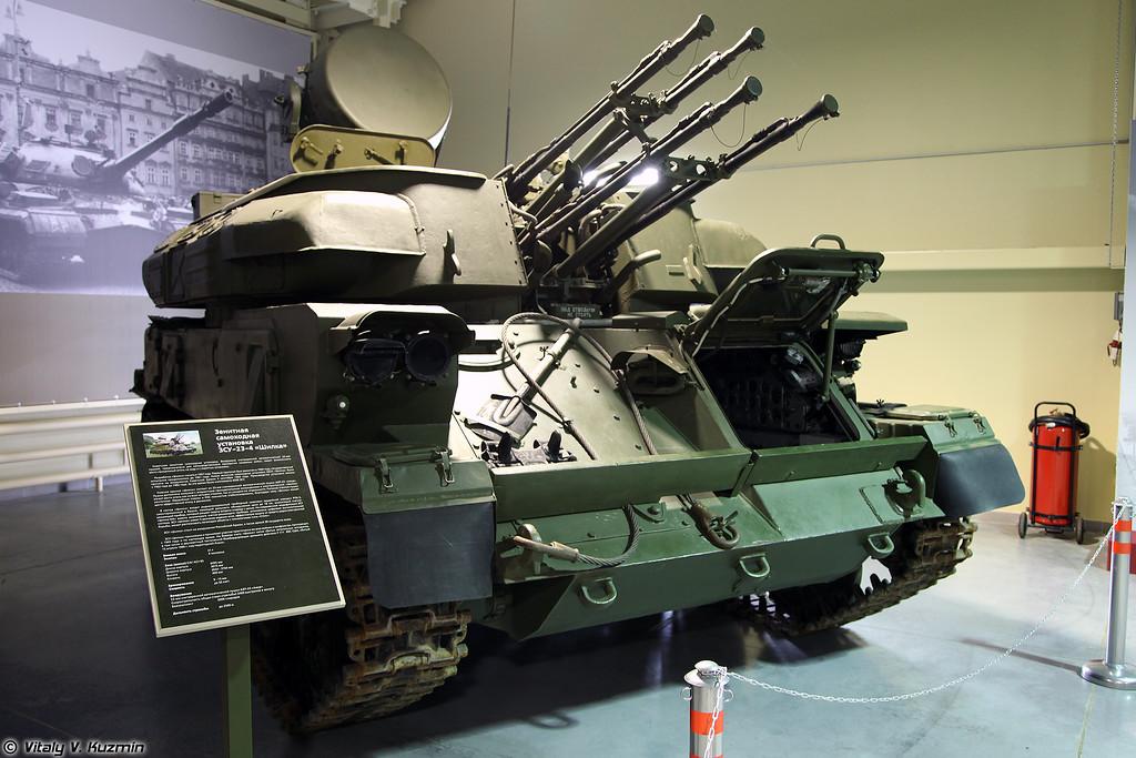 Зенитная самоходная установка ЗСУ-23-4 Шилка (ZSU-23-4 Shilka)