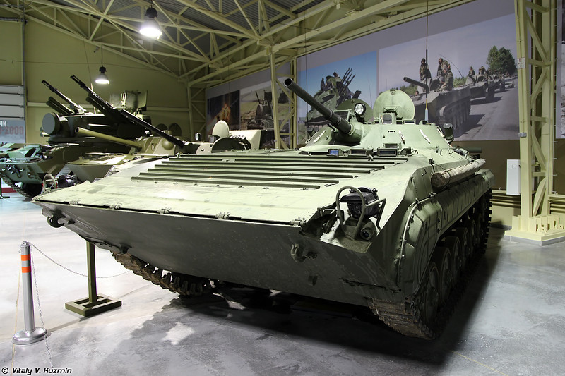 Боевая разведывательная машина БРМ-1К (BRM-1K reconnaissance vehicle)