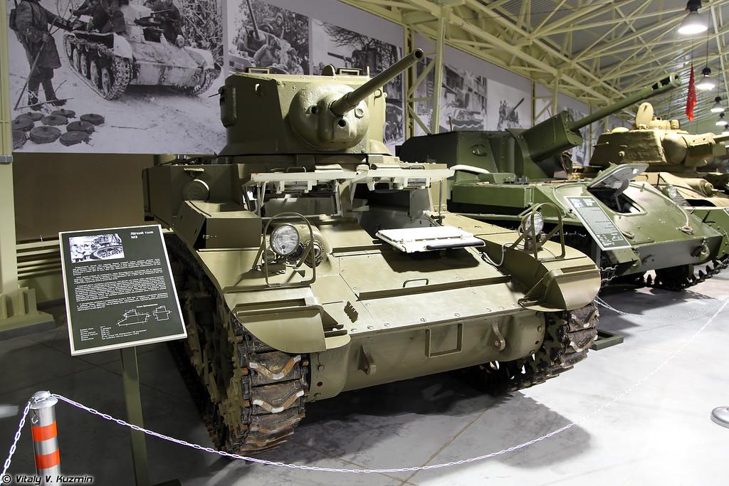Легкий танк Стюарт M3 (Light tank M3 Stuart)