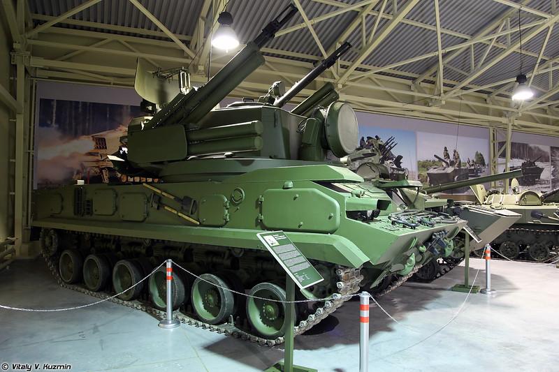 Боевая машина 2С6 ЗРПК Тунгуска (2S6 Tunguska)