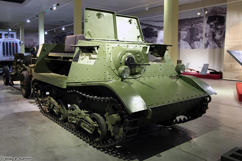 Тягач Т-20 Комсомолец (T-20 Komsomolets tractor)