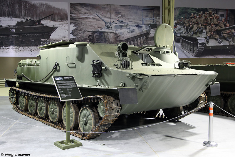 Бронетранспортер БТР-50ПК (BTR-50PK armored personnel carrier)