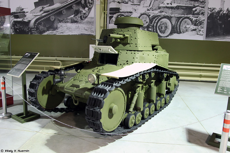 Танк МС-1 Т-18 (T-18 MS-1 light tank)