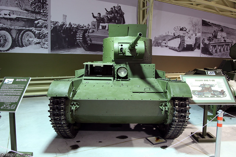 Легкий танк Т-26 образца 1933 г. (T-26 mod. 1933 light tank)