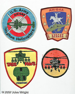 AH-64 Apache patches.
