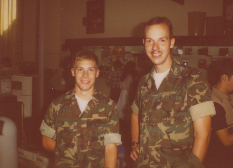 """NAS Millington Tenn. I was at my """"A"""" school. This is Geoff Snape. I met him here, found out he and I went to the same school in Mission Viejo. Lost tract of him as he was assigned elsewhere."""