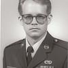 Base NCO of the Quarter portrait. 1989? McClellan AFB, CA.