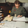 At my QA desk, May 1989. 431 TES, McClellan AFB. (QA co-workers names I can recall: TSgt Mike Blasco, SSgt John Cann, SSgt Duane Ryder, SSgt Mima Wieser)