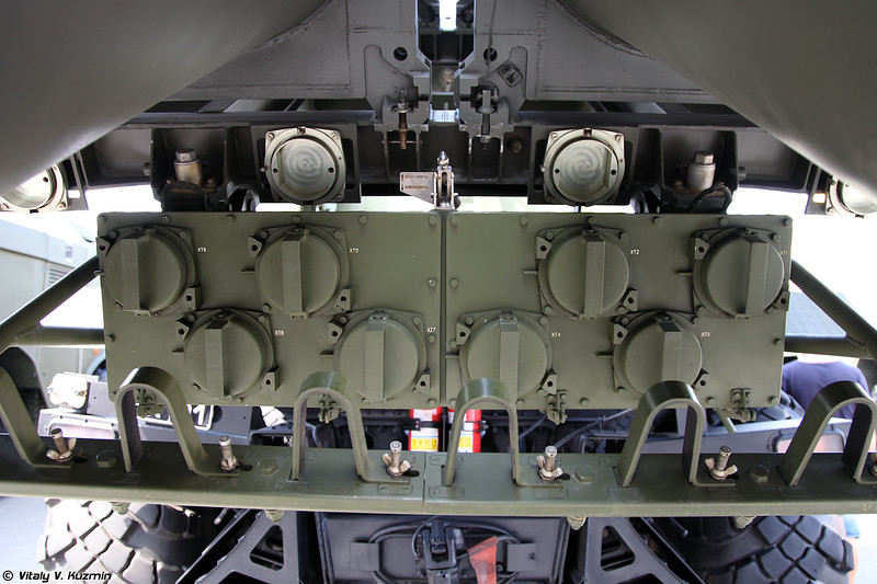 Самоходная пусковая установка БРК Бал (Bal TEL coastal defence missile system)