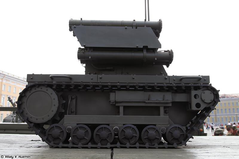 Роботизированный комплекс Платформа-М (Platforma-M combat UGV)