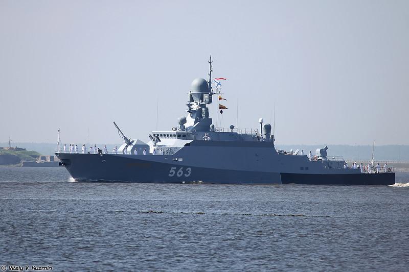 МРК Серпухов проекта 21631 (Serpukhov corvette Project 21631 Buyan-M)