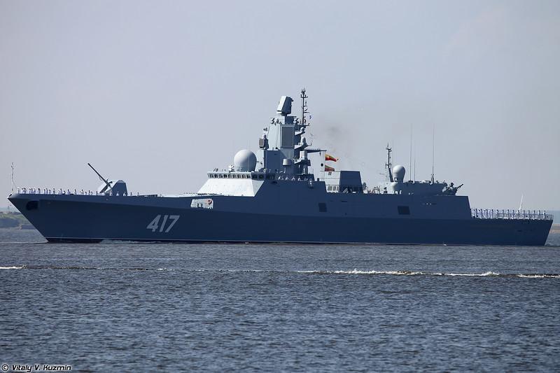 Фрегат Адмирал флота Советского Союза Горшков проекта 22350 (Admiral Flota Sovetskogo Soyuza Gorshkov frigate Project 22350 Admiral Gorshkov-class)