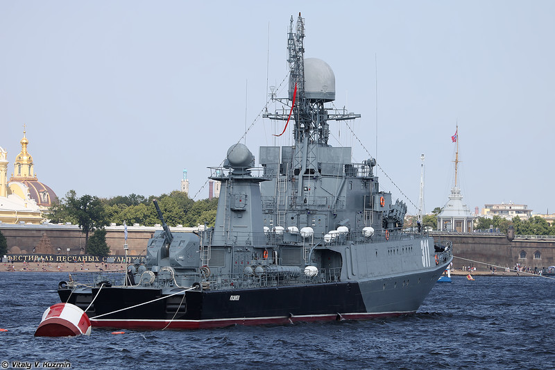 МПК Казанец проекта 1331М (Kazanets anti-submarine corvette Project 1331M Parchim-class)