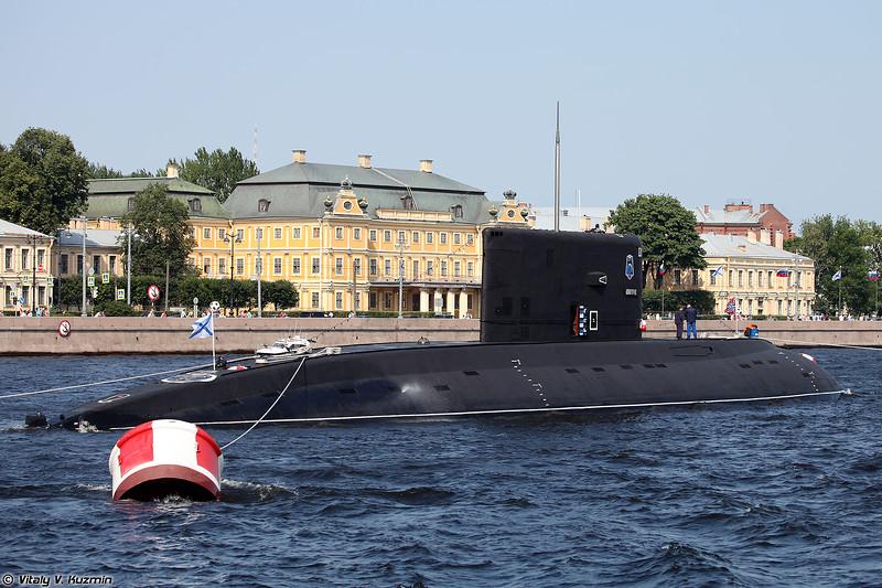 Подводная лодка Б-806 Дмитров проекта 877ЭКМ (B-206 Dmitrov submarine Project 877EKM Kilo-class)