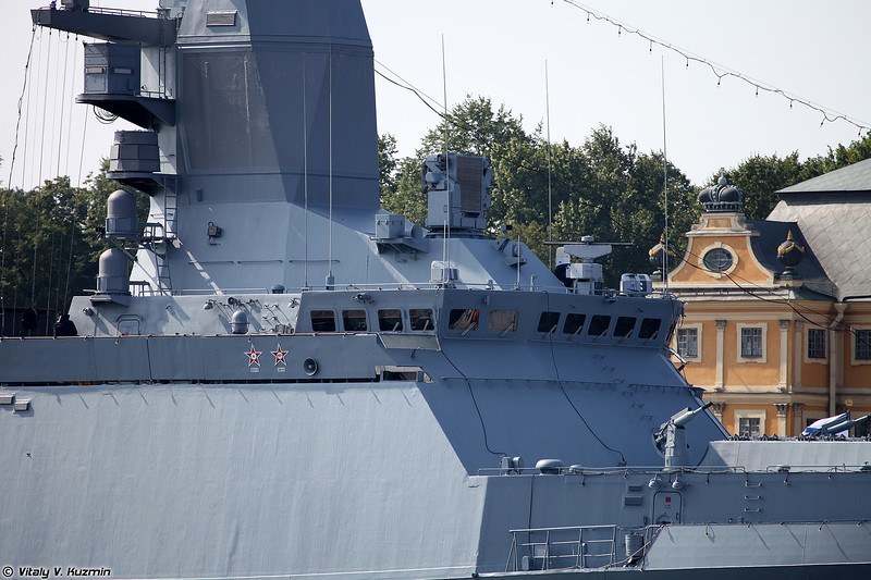 Корвет Сообразительный проекта 20380 (Soobrazitelnyy corvette Project 20380 Steregushchy-class)