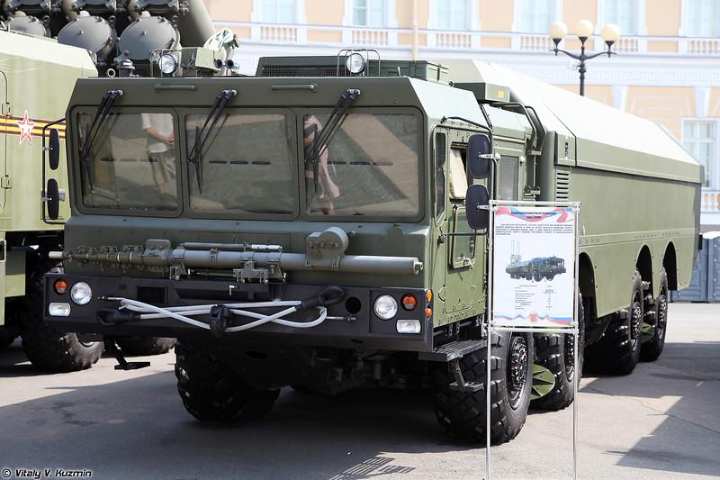 Самоходная пусковая установка К-340П БРК К300П Бастион-П (K-340P TEL of K-300P Bastion-P coastal defence missile system)