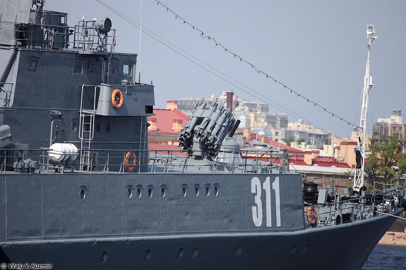 МПК Казанец проекта 1331М (Kazanets anti-submarine corvette Project 1331M Parchim-class)