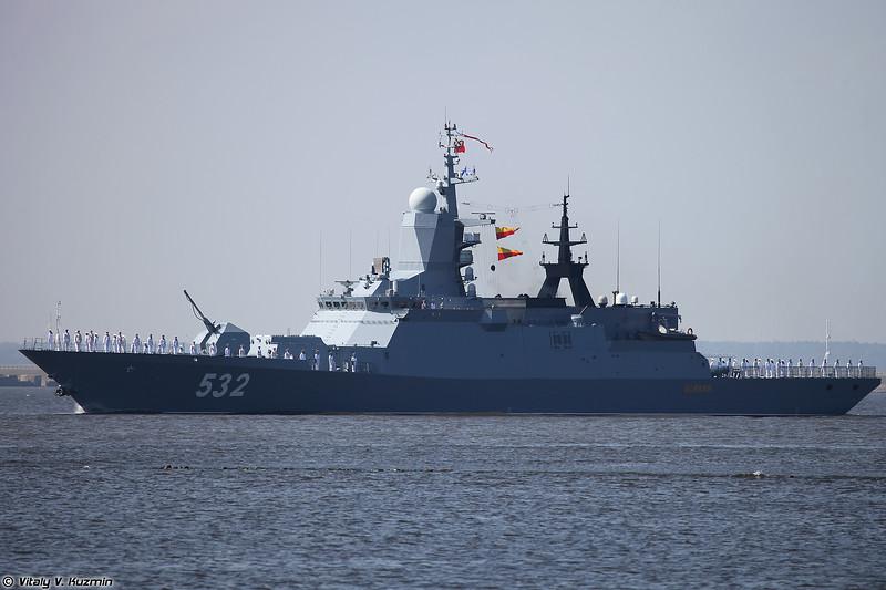 Корвет Бойкий проекта 20380 (Boikiy corvette Project 20380 Steregushchy-class)