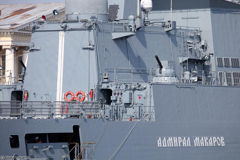 СКР Адмирал Макаров проекта 11356 (Admiral Makarov frigate Project 11356 Admiral Grigorovich-class)