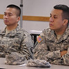 Members of the Northeast Medical Area Readiness Support Group (NE-MARSG) participate in training at Fort Wadsworth in Staten Island, N.Y. on October 18, 2014. <br /> <br /> (U.S. Air Army Photo/1LT Marcus Calliste/Released)