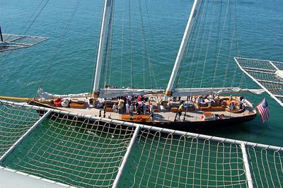 Sunny Day Parade of Ships