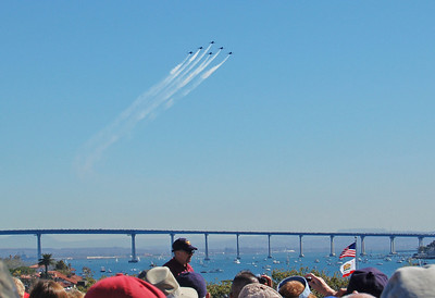 Blue Angels Lead the Parade of Flight