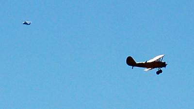 A 20s era Stearman Bi-Plane
