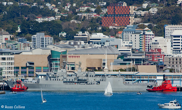 Royal New Zealand Navy Fleet in Wellington for 70th Anniversary Celebrations, 29 September 2011